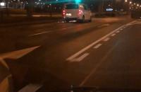 Iskry z samochodu