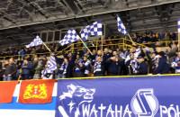 Radość kibiców Lotosu PKH Gdańsk po zwycięstwie