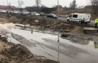 Skutki zalania Traktu św. Wojciecha