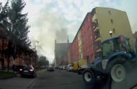 Pożar auta na ul. Rzeźnickiej