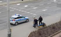 Interwencja policji na ul. Władysława IV w...