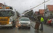 Niebezpieczne zachowanie kierowców w Osowej