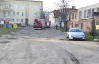 Interwencja strażaków na Chrobrego we Wrzeszczu