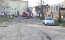 Interwencja strażaków na Chrobrego we...