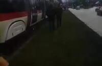 Awaria tramwajów przy Placu Zebrań Ludowych