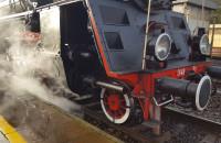 Przejazd retro pociągu do Pucka