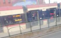 Zatrzymanie ruchu tramwajów przy Dworcu...