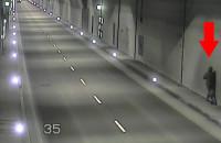 Pieszy w tunelu pod Martwą Wisłą uruchomił alarm