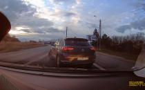 Kierowca zawraca przed kontrolą trzeźwości