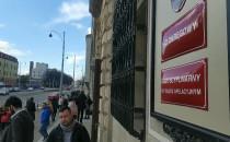 Ewakuacja budynku sądu przy Nowych...