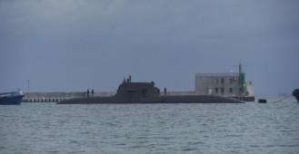 Niemiecki okręt podwodny FGS U 33 wpłynął do gdyńskiego portu