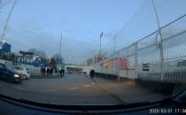 Stadion Arki obstawiony przez policję