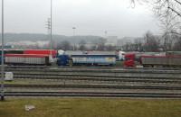 Zablokowany dojazd do ronda przy Rotterdamskiej w Gdyni