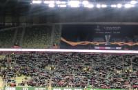 Lechia Gdańsk - Legia Warszawa 0:2. Doping kibiców obu drużyn