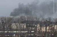 Pali się na terenach portowych w Gdyni