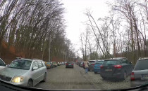 Kierowcy jeżdżą pod prąd na Smoluchowskiego