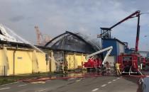Ostatnie działania strażaków w porcie w...