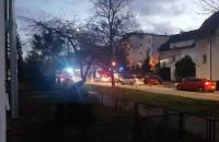 Interwencja Straży Pożarnej we Wrzeszczu