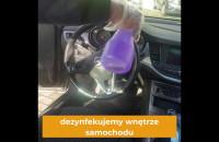 Dezynfekcja auta na minuty