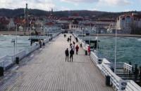 Koronawirus przegnał spacerowiczów z Sopotu