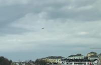 Samolot nad Gdańskiem mimo wstrzymania lotów