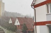 Pierwszy dzień wiosny ze śniegiem w Gdyni
