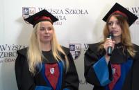 Wyższa Szkoła Zdrowia - wypowiedzi absolwentów