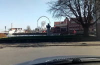 Puste ulice Gdańska podczas kwarantanny