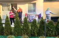 Balkon disco na Jasieniu