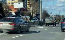 Eskorta policji przejechała przez Gdynie