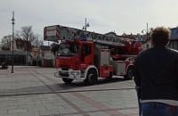 Straż pożarna na Placu Przyjaciół Sopotu