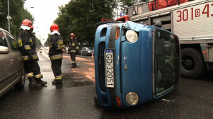 Wypadek na Grunwaldzkiej