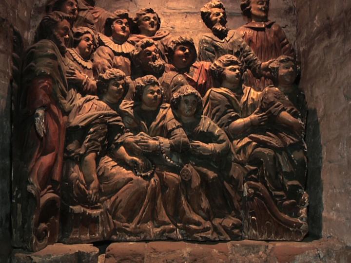 Zwiedzanie kościoła św. Mikołaja oraz krypty.