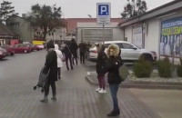 Ogromna kolejka do Lidla na Chylońskiej