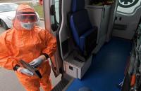 Transport osoby zakażonej koronawirusem