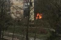 Pożar na stawnej, dwa wybuchy