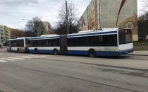 Zbisowane autobusy 150 wróciły z centrum...