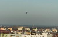 Policyjny Black Hawk nad Gdańskiem