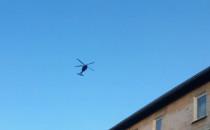 Policyjny Black Hawk właśnie straszy...