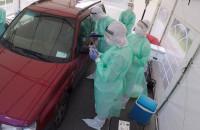 Badanie na obecność koronawirusa przy Instytucie Medycyny Morskiej i Tropikalnej w Gdyni