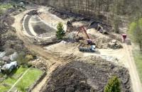 Budowa zbiornika retencyjnego na Witominie