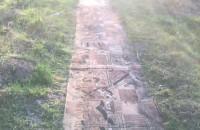 Ścieżka z dywanów na Morenie