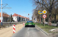 Remont na Hallera nie dla super samochodów