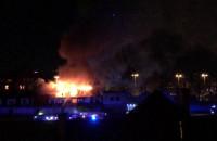pożar Gedanii