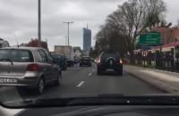 Trąbiące samochody na znak protestu kobiet