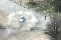 Drifty pod komisariatem policji w Gdyni Śródmieście
