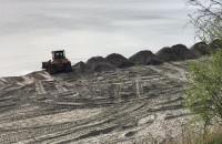 Trwają prace nad poszerzaniem plaży w Orłowie