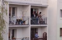 Koncert na balkonie na Morenie