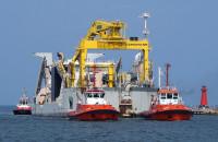 Pogłębiarka Willem van Rubroeck wpłynęła do gdańskiego portu