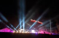 Widowisko Light The Sky Polska przy Stadionie Energa w Gdańsku